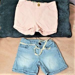 * Oshkosh Bigosh Shorts 2T